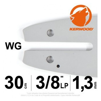 "Guide KERWOOD - 30 cm LP 1,3mm 3/8"" WG"