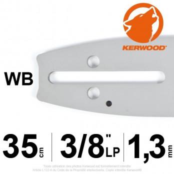 """Guide KERWOOD - 35 cm 3/8""""LP 1,3mm WB"""