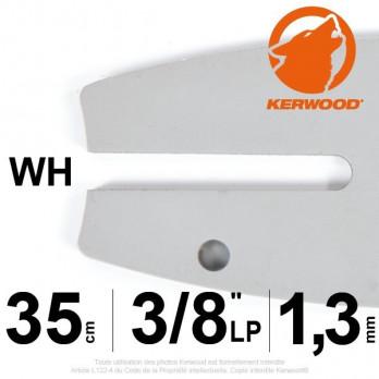 """Guide KERWOOD - 35 cm 3/8""""LP 1,3mm WH"""
