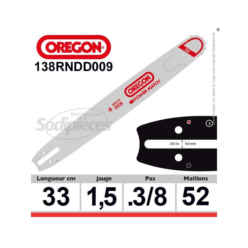 Guide OREGON Power Match D009-33 cm