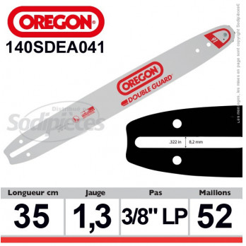 Guide OREGON DB Guard A041-35 cm