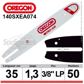 Guide OREGON Amateur Symétrique A074-30 cm