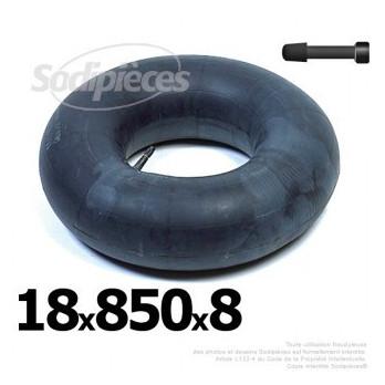 Chambre à air 18 x 850 x 8 (valve droite)