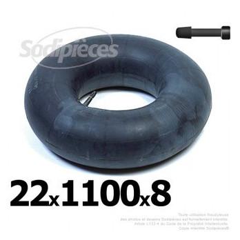 Chambre à air 22 x 1100 x 8 (valve droite)