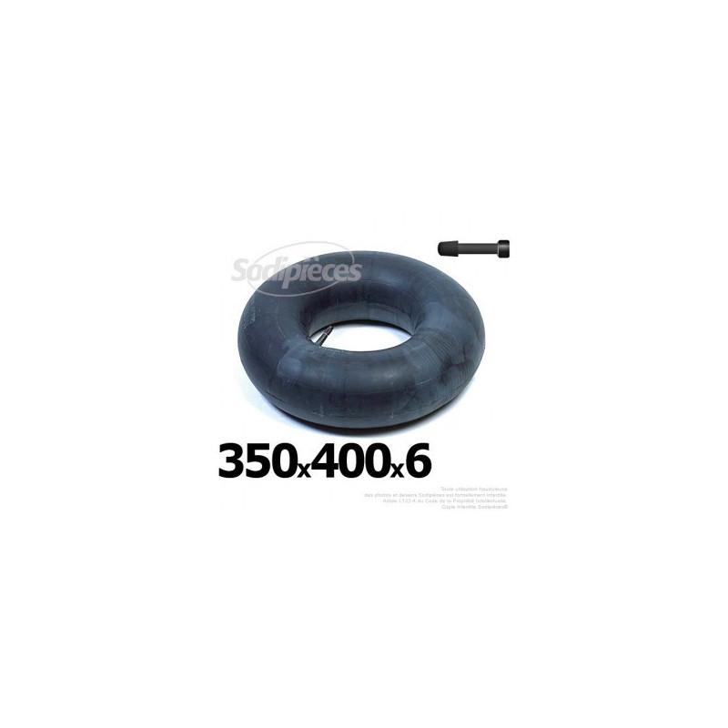 Chambre air 350 x 400 x 6 valve droite 16 60 for Chambre a air 13 5 6