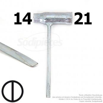 Clé pour bougie 14 et 21