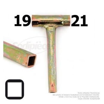 Clé pour bougie 19 et 21 - Douille 11x11