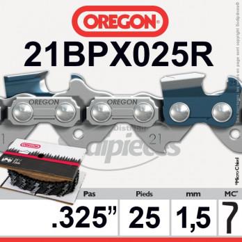"""ROULEAU DE CHAINE OREGON 21BPX025R - .325"""" 1,5mm - 462 maillons"""