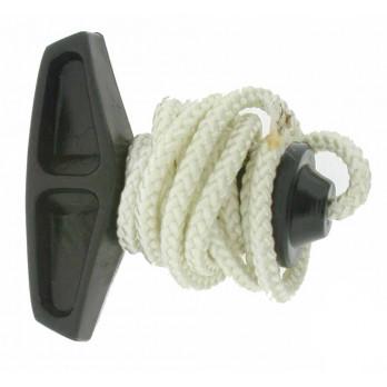 Poignée + corde - Lanceur POULAN