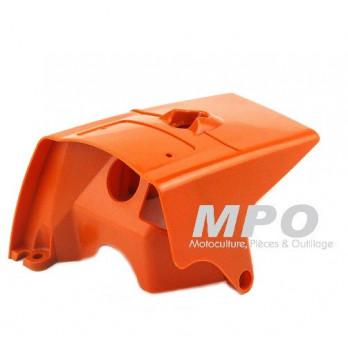 Capot moteur orange pour Stihl 066 - MS660 - MS 660