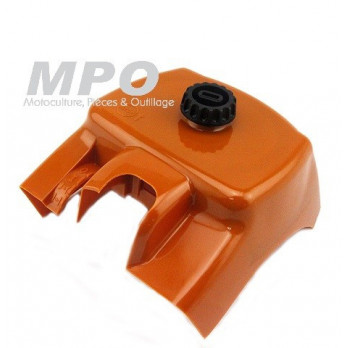 Couvercle de filtre à air orange pour Stihl 066 - MS660 - MS 660