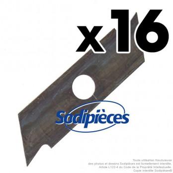Couteaux pour scarificateurs Toro, N°10261