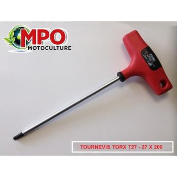 Tournevis torx T27 - 27 X 200