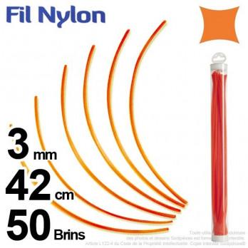 Fil nylon.3 mm x 42 cm