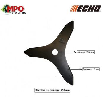 Couteau à taillis Ø 250 x 25.4 mm ECHO