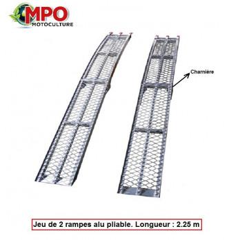 Rampes de chargement Aluminum