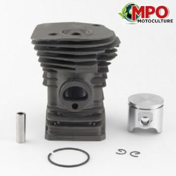 Cylindre Piston pour Husqvarna 340 345 Ø 42 mm (Moteur)