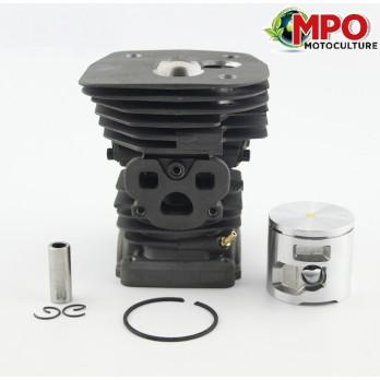 Cylindre piston pour Husqvarna 455 - 460 - Ø 47 mm (Moteur)