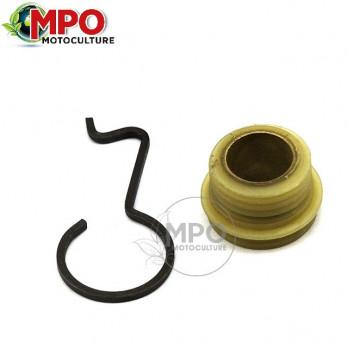 Vis sans fin pour pompe à huile Stihl 066, MS660, MS 660
