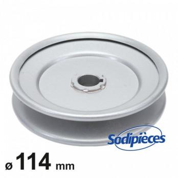 Poulie à gorge en V ø114 mm