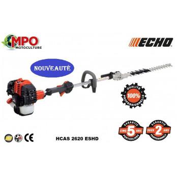 Taille haies thermique ECHO HCAS 2620 ESHD - Pro & Puissant