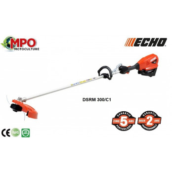 Coupe-bordures à batterie ECHO DSRM 300/C1 + Batterie + Chargeur