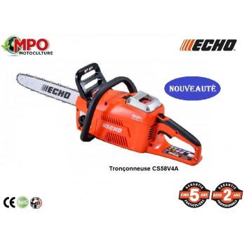 Tronçonneuse à batterie ECHO CS58V4A + Batterie + Chargeur