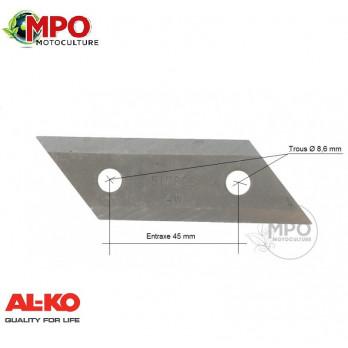 Couteau pour broyeur origine pour AL-KO Newtec, Power Slider & Avantec - 517828