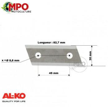 Couteau broyeur AL-KO HC1600, TCS2200, BV2200, H2200TCS, TCS2500, DUOTEC, TCS3200 - ORIGINE 320715
