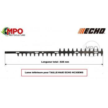 Lame inférieure pour taille-haie Echo HC30EWS