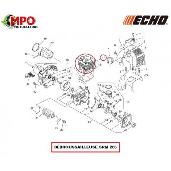 Cylindre origine Echo Ø 34mm pour débroussailleuse SRM 265