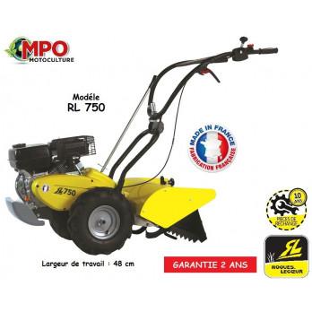 Motobineuse à fraises arrières Roques et Lecoeur RL750 48 CM