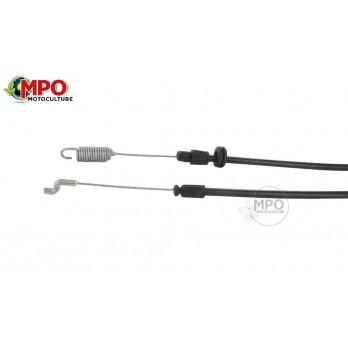 Câble embrayage Castelgarden, Stiga, NRL534WTR, NTL534WTR