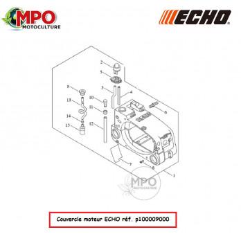 """Couvercle moteur pour Tronçonneuse / Elagueuse ECHO CS303T """"Origine"""""""