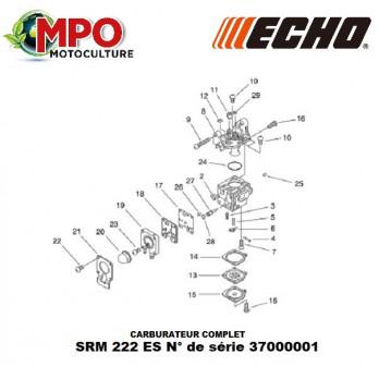 Carburateur complet ECHO SRM 222 ES