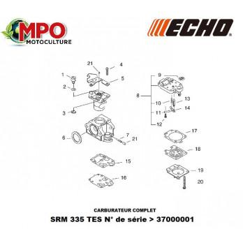 Carburateur complet ECHO SRM 335 TES