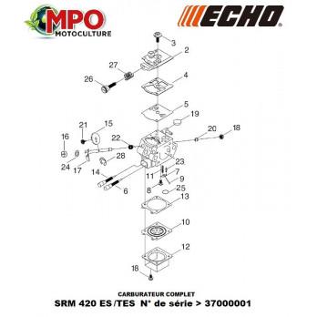 Carburateur complet ECHO SRM 420 ES