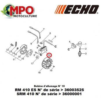 Bobine d'allumage ECHO pour RM 410ES
