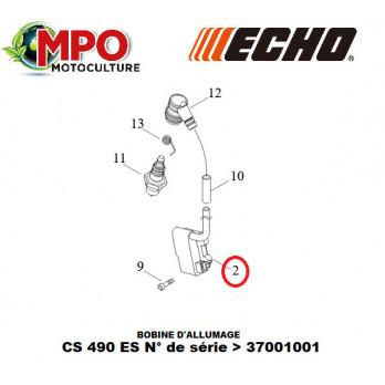 """Bobine d'allumage ECHO pour CS 490ES """"ORIGINE"""""""