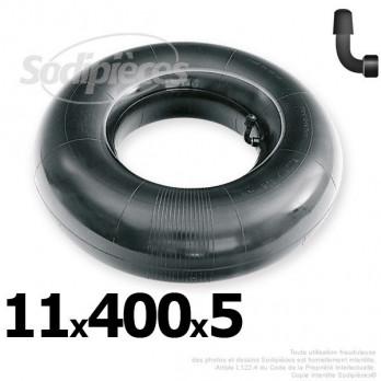 Chambre à air 11 x 400 x 5 (valve coudée)