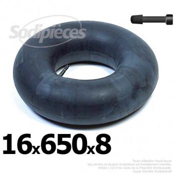 Chambre à air 16 x 650 x 8 (valve droite)